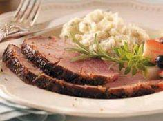 Glazed Easter Ham Recipe