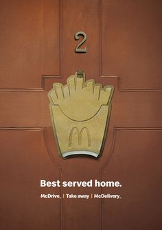 Print advertisement created by DDB, Finland for McDonald's, within the category: Food.