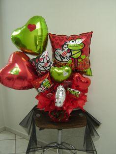 Arreglos con globos y galletas decoradas