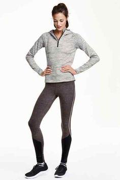 139,90 H&M Zimowe legginsy do biegania