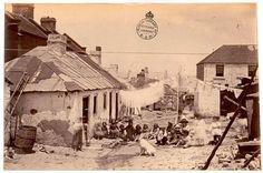 Macgraths Lane - Kent St Sydney. Dec 1875. Photo courtesy Mitchell Library. History NSW