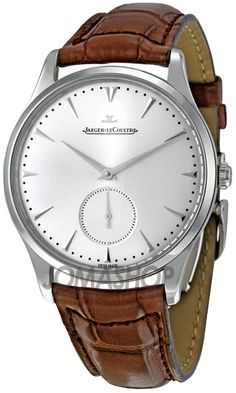 Jaeger LeCoultre Master Grand. Beautiful watch but prefer it with the black strap