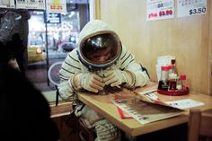 This is how I feel in Fresno CA. Like an astronaut visiting a very strange world.