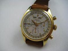 ROLEX RARE CALENDAR CHRONOGRAPH REF.6034. aka JEAN-CLAUDE KILLY MODEL High End Watches, Chronograph, Rolex, Calendar, Stuff To Buy, Life Planner, Menu Calendar