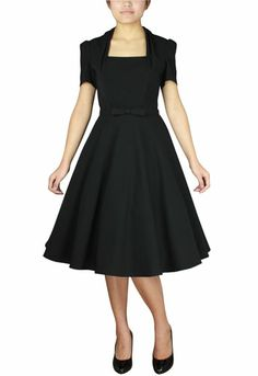 50s inspired  dress by Amber Middaugh #Rockabilly Dress #1950s #Vintage
