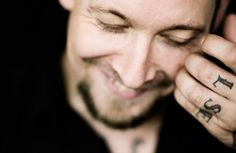Michael Poulsen -I absolutely love this picture. His face and smile says so much; blessed and humble.