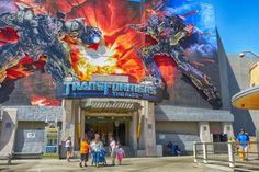 What You Need to Know for Maximum Fun on the Ride at Universal Studios Hollywood Transformers Ride at Universal Studios Hollywood - ©Betsy Malloy Photography