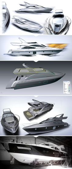 60 ft. Yacht by Schaefer Yachts on Behance