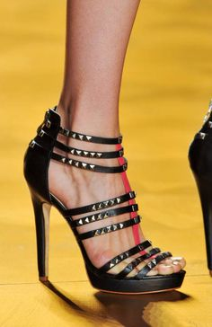 Nicole Miller Spring 2014 shoes