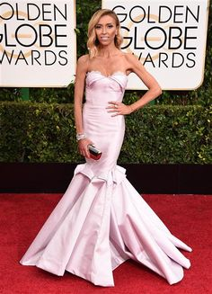 Giuliana Rancic arrives at the 72nd annual Golden Globe Awards at the Beverly Hilton Hotel in Beverly Hills, Calif., on Jan. 11, 2015.