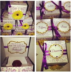 """Be My Bridesmaid Box / Ring Pop Bridesmaids  """"pop the question"""" box on Etsy, $45.00"""
