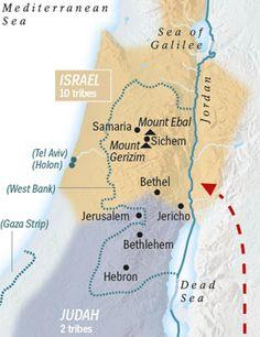 Samaritan Temple Found near Jerusalem