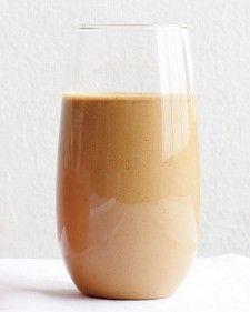 Peanut-Banana Espresso Smoothie
