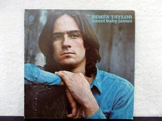 James Taylor-  Sweet Baby James. 1970 Vintage vinyl LP 33. AbqArtistry