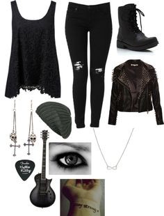 """Untitled #1538"" by mizscreamofreak4eversuckers ❤ liked on Polyvore"