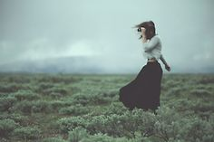 The wind and the storms awaken the wild, wild woman within
