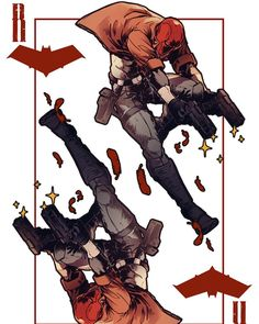 Red Hood Comic, Red Hood Dc, Batman Red Hood, Batman Comic Art, Gotham Batman, Batman Robin, Nightwing, Batgirl, Catwoman
