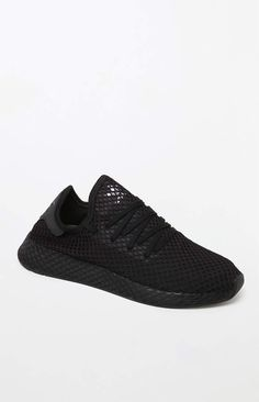 b745cd7e42e adidas Deerupt Runner Black Shoes Runners Shoes