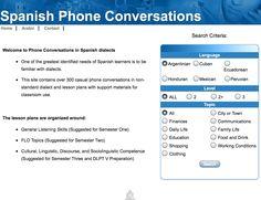 300+ Telephone Conversations, Ecuadorean, Cuba,, Argentinian, + more