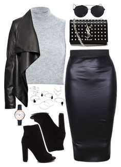 """""""Untitled #123"""" by biancamarie17 on Polyvore featuring River Island, HIDE, Yves Saint Laurent and FOSSIL"""