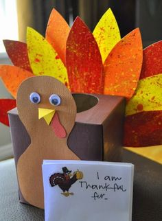What are you Thankful For? Would be great for in the library when kids are checking out books they can fill it out.