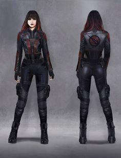 Superhero Costumes Female, Superhero Suits, Superhero Design, Superhero Clothes, Super Hero Outfits, Super Hero Costumes, Girl Pose, Warrior Outfit, Vargas Girls