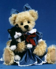 Mary Holstad's Official Website - Teddy Bears, Dogs, Cats, Cottage Collectibles##
