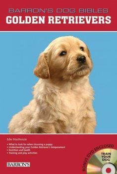 This new title in Barron's series of Dog Bibles focuses on Golden Retrievers. These dogs are well mannered, easy to train, and gentle with children. Golden Retrievers are working dogs and rank in the