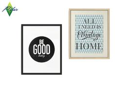 Calligraphic trend: modern, graphic, structured  Found in TSR Category 'Sims 4 Paintings & Posters'