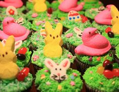 Cupcake idea for Crystal's Easter dinner?