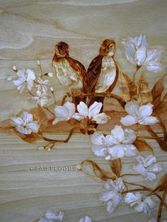Marquetry is the art of applying pieces of veneer to a structure to form decorative patterns, designs or pictures.