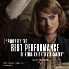 """""""The Imitation Game"""" promo The Imitation Game, Alan Turing, Minimal Movie Posters, Richard Iii, Keira Knightley, Benedict Cumberbatch, New Movies, Her Hair, Games"""