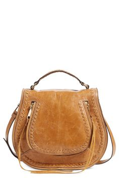A Rebecca Minkoff saddle bag that's suit for everyday use.