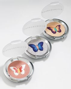 Chantecaille Butterflies eyeshadows. The prettiest makeup I ever did see :)