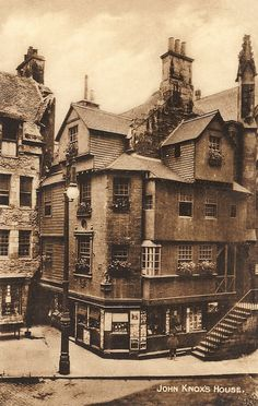 John Knox's House 1930s, Edinburgh