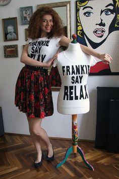 DIY Frankie Say Relax Rachel Favorite Shirt
