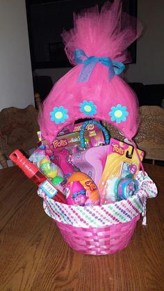 Troll easter basket easter baskets i made pinterest easter made trolls basket negle Gallery