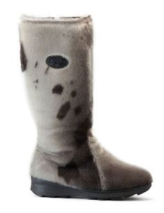 Great Canadian Seal Skin Boots with Shearling lining that will keep you warm all winter