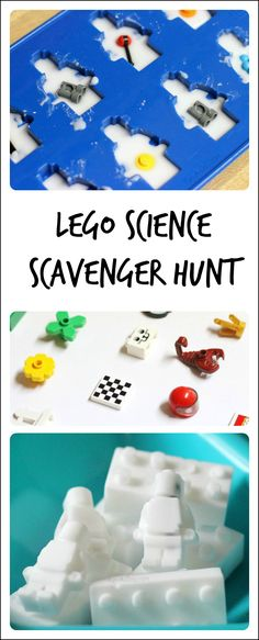 LEGO science scavenger hunt for kids - so much playful learning!