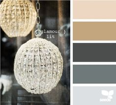 Possible color palette for my living room. And a touch of gold!