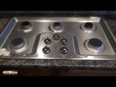 How to clean stove top and stainless steel appliances with vinegar. Clean stainless steel appliances like a stove top with vinegar because it's natural and i. Cleaning Stove Top Burners, Stove Top Cleaner, Gas Stove Burner, Clean Stove Top, Gas Stove Top, Stainless Steel Gas Stove, Cleaning Stainless Steel Appliances, Electric Stove Burner Covers, Cleaning Recipes