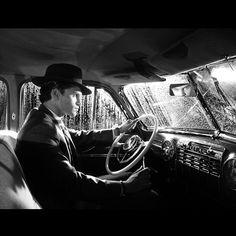 "Keegan Allen on set of ""Shadow Play""  Photograph by Troian Bellisario"