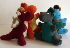Dragons by ritaboth121. They're a little doofy... I like that.