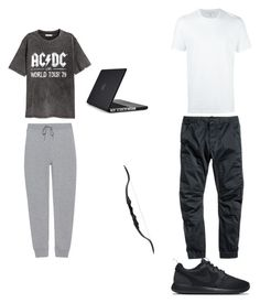 """Clint- Day off"" by calliehill on Polyvore featuring H&M, T By Alexander Wang, Neil Barrett, NIKE and Speck"