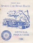 Wilmot Hills, 23/05/1954 Elkhart Lake, Road Racing, Cards, Maps, Playing Cards