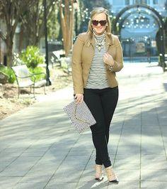 JCrew Tan Blazer Fashion Essential Winter Fall Outfit