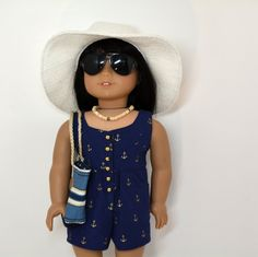 18 Doll Clothing fits American Girl Doll  6 by Lillyblumedesigns