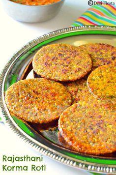 Rajasthani Moong dal Roti