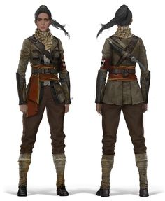 Falconers - Female Falconer reference   www.thefalconers.wordpress.com    The Order 1886. Concepts by Tobias Kwan.