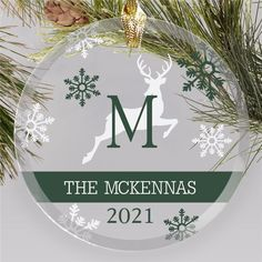 Bring your love of the classic Christmas decor to your holiday tree with our new Reindeer Personalized ornament. #familyornaments #personalizedornaments #christmasornaments Reindeer Names, Reindeer Ornaments, Glass Christmas Ornaments, Christmas Bulbs, Christmas Gifts, Personalized Family Ornaments, Personalized Gifts, Classic Christmas Decorations, Holiday Decor